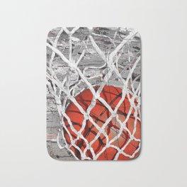 Basketball Art Bath Mat