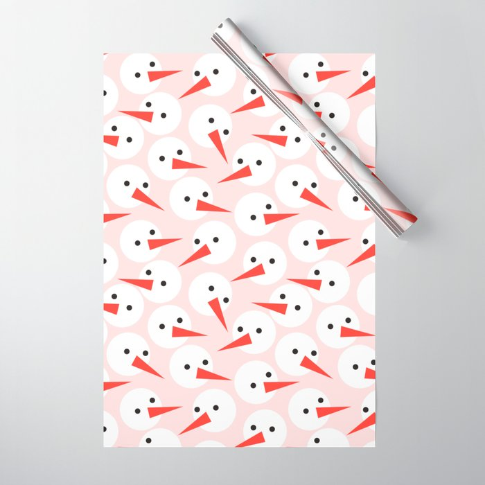 Snowman pattern Wrapping Paper