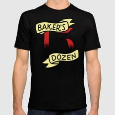 Baker's Dozen Black Mens Fitted Tee SMALL