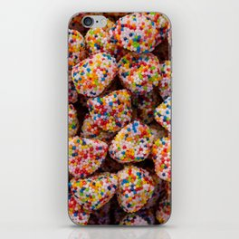 Confection of multiple colors. Candied birthday candies iPhone Skin
