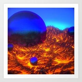 BOXCAT - Surreality Art Print