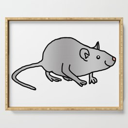 Year of the Rat - Metal Serving Tray