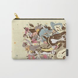 The Great Horse Race! Carry-All Pouch