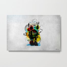 Groovetron Metal Print