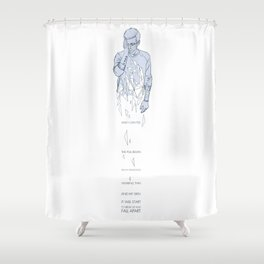 Fall Away Shower Curtain