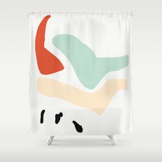 Matisse Shapes 5 Shower Curtain