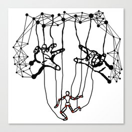 the Puppet Canvas Print