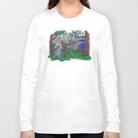 hallion Long Sleeve T-shirts featuring Visions are Seldom all They Seem by Karen Hallion Illustrations