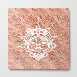 Spirit Frog Copper Metal Print