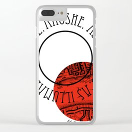 SHADES OF MAGIC | V.E.SCHWAB Clear iPhone Case