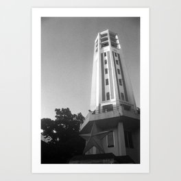 Carillon Tower,  2012. Art Print