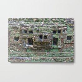 Mayan Ruins Lamanai, Belize Metal Print