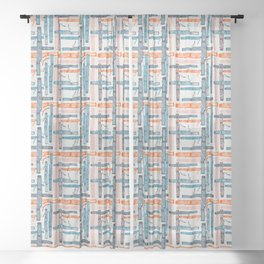 Bassoon Junction Sheer Curtain