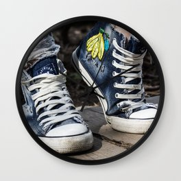 sneakers Wall Clock