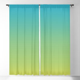 083 Aquatic Snakes Gradient Blackout Curtain