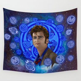 Doctor Who 10th generation Wall Tapestry