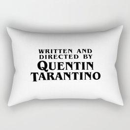 Written and Directed Rectangular Pillow