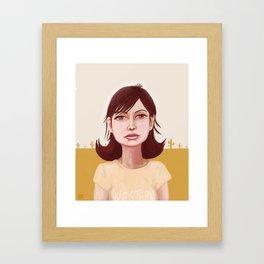Runnin' Down A Dream Framed Art Print