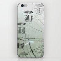 ferris wheel iPhone & iPod Skins featuring Ferris Wheel by SilverSatellite