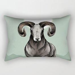 Chinese Zodiac: The Ram Rectangular Pillow