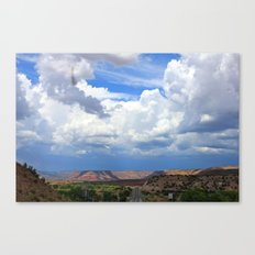 New Mexico Countryside  Canvas Print