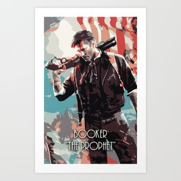 Booker The Prophet Art Print
