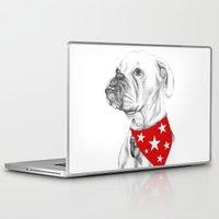 boxer Laptop & iPad Skins featuring Boxer by Natasha Maiklem