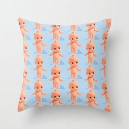 KewtiePie Throw Pillow