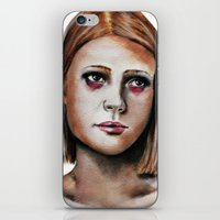 tenenbaum iPhone & iPod Skins featuring Margot Tenenbaum  by Bella Harris