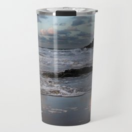Trevone Bay, Cornwall, England, United Kingdom Travel Mug