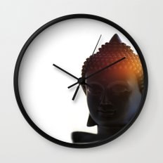 Buddha Lights Wall Clock