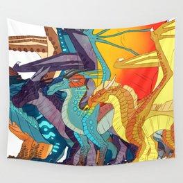 King Dragon Wall Tapestry