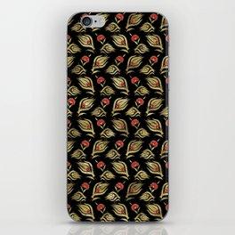 Turkish tulip - Ottoman tile pattern  4 iPhone Skin