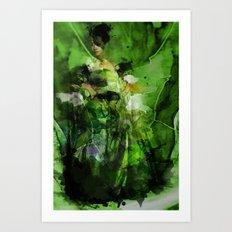 Yiji's Pride Art Print