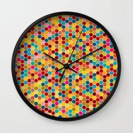 Happy bee! Wall Clock