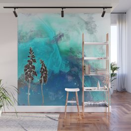 Inverted Foxglove Wall Mural