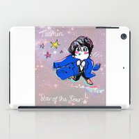 shinee iPad Cases featuring SHINee Star Taemin  by sophillustration