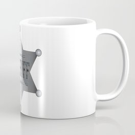 Sheriff Badge Coffee Mug