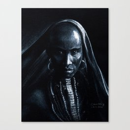Beautiful african Canvas Print