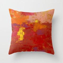 Color Splendor by Kathy Morton Stanion Throw Pillow