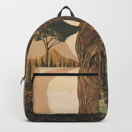 The Ancient Heart Tree Backpack