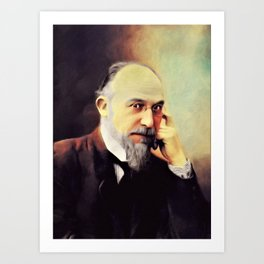 Erik Satie, Music Legend Art Print