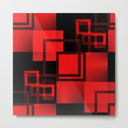 2D - abstraction -3b- Metal Print