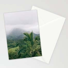 Hanalei Valley, Kauai Hawaii, Tropical Nature, Landscape Photography Stationery Cards
