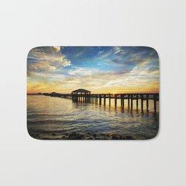 Biloxi Bay Sunset Bath Mat