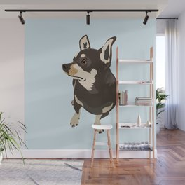 Hopeful Dog Wall Mural