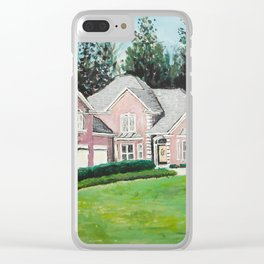 Great Linda's Home Clear iPhone Case