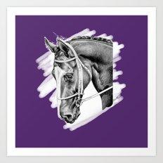 Sport Horse Art Print
