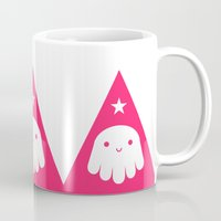 wizard Mugs featuring Wizard by Momo & Sprits