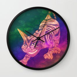 chesire cat Wall Clock